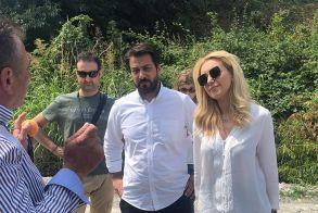 Ο Τάσος Μπαρτζώκας σε σύσκεψη με την υφυπουργό Αγροτικής Ανάπτυξης Φωτεινή Αραμπατζή - Δίκαιη αντιμετώπιση προς όλους και άμεσες ενέργειες