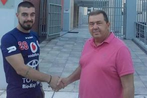 Στην ομάδα της ΧΑΝΘ συνεχίζει την καριέρα του ο Νίκος Αρβανιτίδης