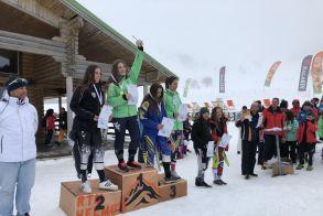 3ο Κύπελλο Ελλάδας Αλπικού Σκι FIS. Κέρδισαν τις εντυπώσεις τα κορίτσια του ΕΟΣ