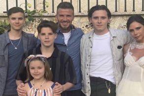 Στην αγαπημένη του Αργολίδα για διακοπές ο Ντέιβιντ Μπέκαμ με την οικογένειά του