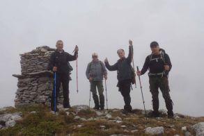 Στην κορυφή Χαμίτης (2065μ.) με τους Ορειβάτες Βέροιας