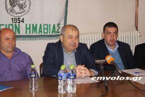 Παραιτήθηκε από την ΕΠΣ Ημαθίας ο Γιάννης Ακριβόπουλος