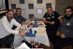 Αετοί Βέροιας : Το δείπνο της διοίκησης σε τεχνικό επιτελείο και αθλητές ενόψει της έναρξης της σεζόν