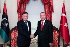 Τουρκία και Λιβύη βάζουν
