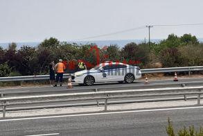 Πιερία: Τροχαίο ατύχημα στον κόμβο της Πλάκας Λιτοχώρου