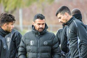 ΒΕΡΟΙΑ: Κώστας Γεωργιάδης (προπονητής) και Πασχάλης  Έλκας (γυμναστής ) μιλούν για την διακοπή των πρωταθλημάτων.