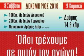 Στις 8 & 9 Δεκεμβρίου 2018 ο 7ος ΦΙΛΙΠΠΕΙΟΣ Δρόμος