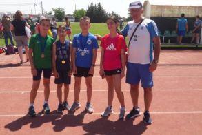 5 μετάλλια οι μικροί Βεροιώτες στους αγώνες φιλίας στην Αλεξάνδρεια