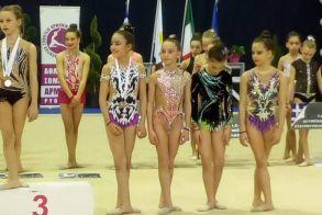 Ρυθμική Γυμναστική: Οι επιδόσεις του Φιλιππου Διεθνές τουρνουά ρυθμικής γυμναστικής Αρμονία Cup