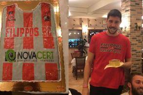 Η ανδρική ομάδα μπάσκετ του Φιλίππου έκοψε την βασιλόπιτα