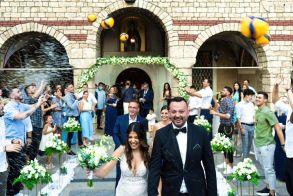 Παντρεύτηκε την αγαπημένη του Ιωάννα ο πρόεδρος του Φίλιππου Βέροιας VOLLEYBALL