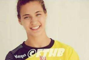 Η διεθνής Τυνησία τερματοφύλακας  Basma Sfar στη ΒΕΡΟΙΑ 2017! - Δήλωση αθλήτριας
