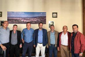 Συνάντηση του Δημάρχου Κ. Βοργιαζίδη με τον Αγροτικό Σύλλογο Γεωργών Βέροιας