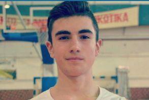 Αρίστευση  Διακεκριμένου  Αθλητή μπάσκετ του Φιλίππου Βέροιας  Κυριάκου Ποταμόπουλου