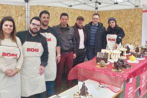Στις γιορτινές δράσεις της πόλης  συμμετείχε και φέτος  ο Σύλλογος Ζαχαροπλαστών Βέροιας