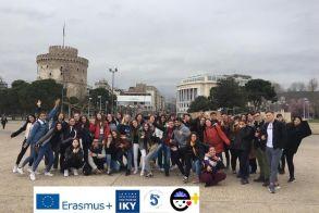 Διακρατική Εκπαιδευτική Δραστηριότητα του προγράμματος Erasmus+KA2 από το 5ο Γενικό Λύκειο Βέροιας - Φωτό