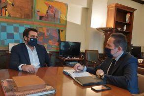 Τάσος Μπαρτζώκας με Στέλιο Πέτσα: στο «τραπέζι» η στήριξη του Υπουργείου Εσωτερικών για αναπτυξιακά έργα της Ημαθίας