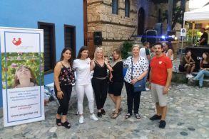 Μουσική εκδήλωση  στον χώρο της εβραϊκής συνοικίας διοργάνωσαν εθελοντές της Πρωτοβουλίας για το Παιδί - Ευχαριστήριο του Διοικητικού Συλλόγου