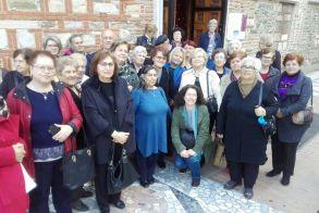 Το ΚΑΠΗ του Δήμου Βέροιας επισκέφθηκε το Αρχαιολογικό Μουσείο Θεσσαλονίκης και τον Ιερό Ναό  Αγίου  Δημήτριου