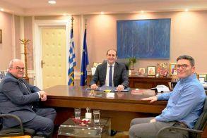 Απ. Βεσυρόπουλος : «Το φυσικό αέριο έρχεται σε Βέροια και Αλεξάνδρεια. Τα έργα αρχίζουν μέχρι το τέλος του 2020»