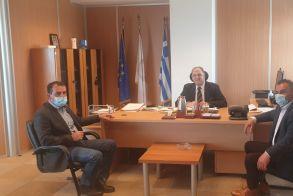 Συνάντηση του  Αγροτικού Συλλόγου Γεωργών Βέροιας με τον πρόεδρο του ΕΛΓΑ  και του ΟΠΕΚΕΠΕ