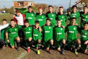 Νίκη της Κ16 της Αγ. Βαρβάρας επί του Κοπανού με 3-0