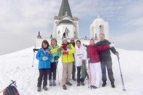 Πορεία στο χιόνι με τους Ορειβάτες Βέροιας στα 2524 μ.του Όρους Βόρα