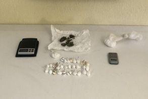 Από το Τμήμα Ασφάλειας Βέροιας συνελήφθη ένα άτομο για διακίνηση ναρκωτικών