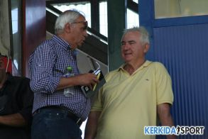 Μάκης Κατσαβάκης Ένας φίλος από τα παλιά παρακολούθησε τον αγώνα Βέροιας- Διαγόρα