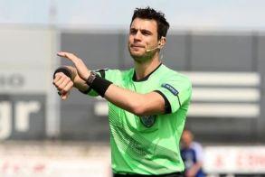 Ο κ. Κατσικογιάννης διαιτητής του αγώνα  Κυπέλλου της ΒΕΡΟΙΑΣ με την Καρδίτσα