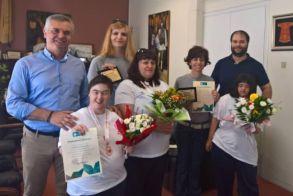Δήμος Νάουσας : Βράβευση αθλητών special olympics