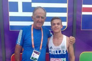 Γκιορ 2018: 5η θέση για τον Άνθιμο Κελεπούρη στα 10.000 μ. βάδην