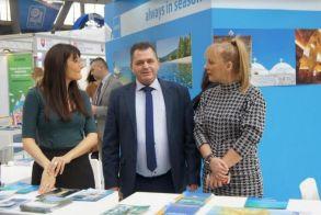 Σε έκθεση τουρισμού στο Βελιγράδι συμμετείχε ο Κώστας Καλαϊτζίδης