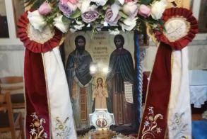 Στην Αγία Παρασκευή Πατρίδας, τα λείψανα των Αγίων Ραφαήλ, Νικολάου και Ειρήνης