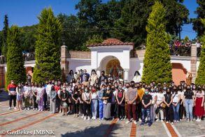 Τελέστηκε η υπαίθρια Αρχιερατική Θεία Λειτουργία για τους μαθητές που θα διαγωνιστούν στις Πανελλαδικές Εξετάσεις