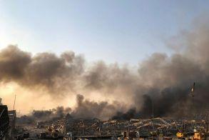 Ισχυρή έκρηξη συγκλόνισε τη Βηρυτό - Δεκάδες νεκροί, χιλιάδες τραυματίες και εικόνες καταστροφής (φωτό - βίντεο)