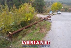 Αγ. Βαρβάρα Βέροιας: Πριόνισαν κολόνα, για να βυθιστεί στο σκοτάδι δομή προσφύγων