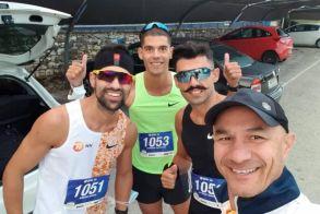 Με 6 αθλητές συμμετείχε στον 14ο Γύρο Λίμνης Ιωαννίνων η Makridis Running Team