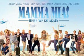 Πρεμιέρα στο κινηματογράφο STAR με την προβολή της ταινίας MAMMA MIA! HERE WE GO AGAIN