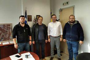 Συνάντηση του Αγροτικού Συλλόγου Ημαθίας με τον Αντιπεριφερειάρχη Αγροτικής Οικονομίας της Π. Κεντρ. Μακεδονίας Σ. Μπάτο