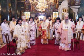 Πολυαρχιερατικό Συλλείτουργο για την εορτή του Αγίου Παντελεήμονος και τα Oνομαστήρια του Μητροπολίτη. Χειροτονία Πρεσβυτέρου