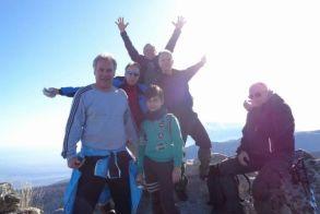 Με τους Ορειβάτες Βέροιας στην κορυφή