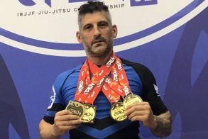 Πολύ καλή εμφάνιση για τον Στέργιο Παπαγιάννη αθλητή του ΑΣ Ρωμιός στο London fall international open Jiu-Jitsu