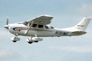 Γρεβενά: Αναγκαστική προσγείωση μονοκινητήριου αεροπλάνου (video)