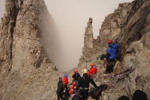 Όλυμπος: Τραυματισμός ορειβάτισσας στα Πριόνια - Επιχείρηση διάσωσης