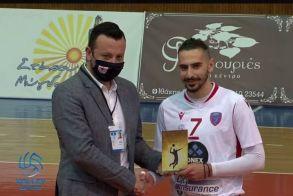 Volley League . Φίλιππος Βέροιας - Φοίνικας Σύρου 1-3