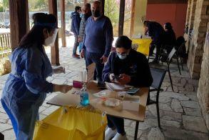 Ολοκληρώθηκαν τα δωρεάν Rapid Test στη συνοικία του Προμηθέα
