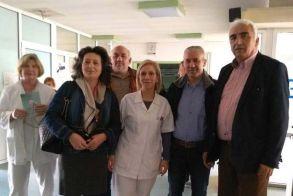 Ο υποψήφιος Δήμαρχος Μιχάλης Χαλκίδης επισκέφθηκε το Κέντρο Υγείας Αλεξάνδρειας