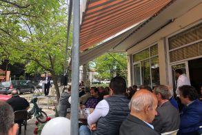 Στα Ριζώματα ο υποψήφιος δήμαρχος Αντώνης Μαρκούλης