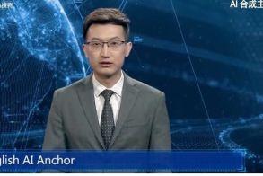 Τεχνολογική επανάσταση: Δημιουργήθηκε το 1ο ρομπότ που παρουσιάζει ειδήσεις